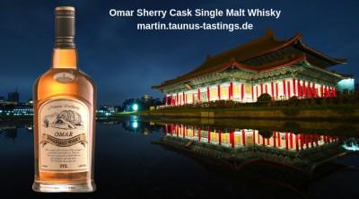 Omar Sherry Cask Single Malt Whisky
