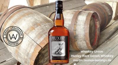 Whiskey Union Huxley Rare Genus Whiskey